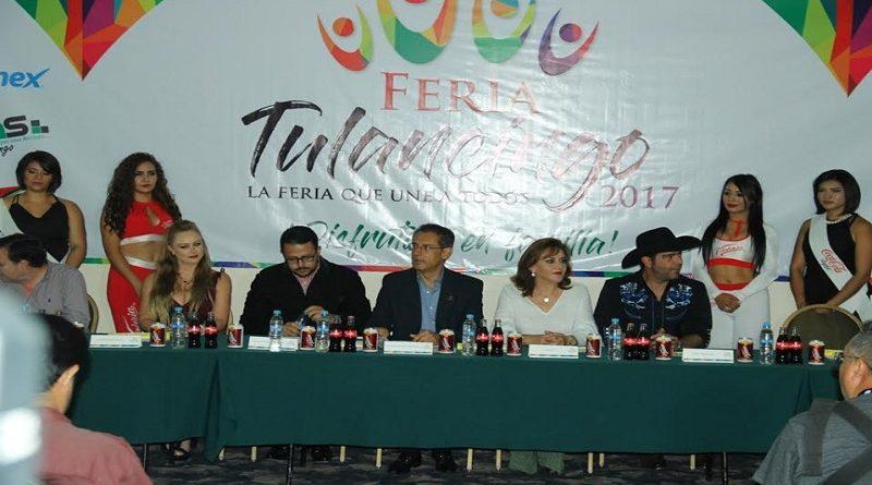 Presentan las actividades de la Feria Tulancingo 2017.