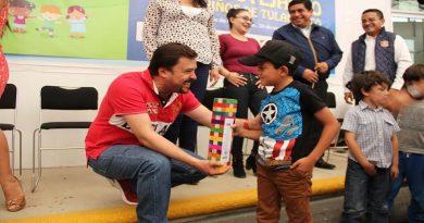 UPT festeja a los niños de Tulancingo y la región.