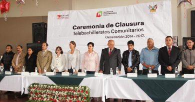 Habrá obras de mejoramiento a infraestructura de telebachilleratos: Rocío Jaqueline Sosa