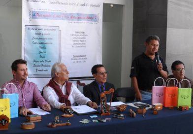 Artesanías de Ixmiquilpan, Hidalgo se exponen en la Ciudad de México.