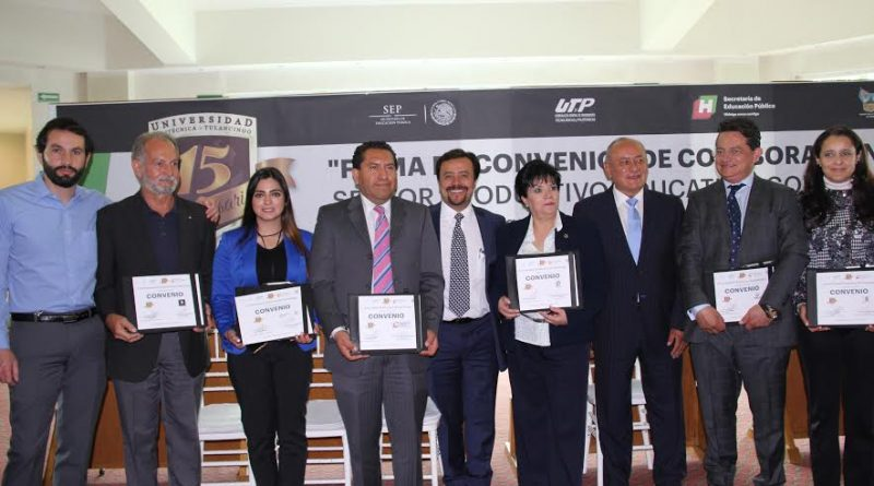 UPT firma convenio de colaboración con el sector productivo-social-educativo-gubernamental.