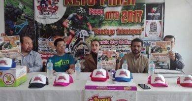 En Santiago Tulantepec, Reto Paila 2017, un reto para los amantes del ciclismo de montaña.