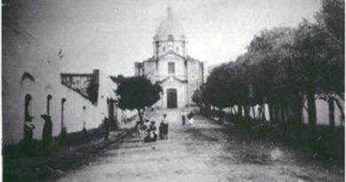 Las inscripciones de las Campanas del Santuario de Nuestra Señora de los Ángeles.