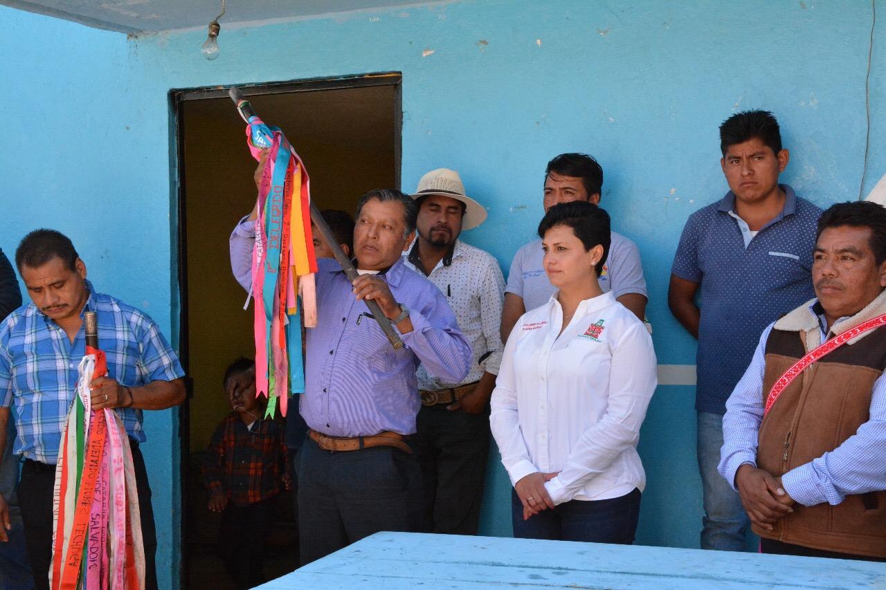 Asumen el cargo nuevas autoridades auxiliares de Santa Catarina.