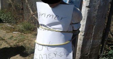 Vecinos de La Esperanza detienen a presunto ladrón y amenazaron con lincharlo