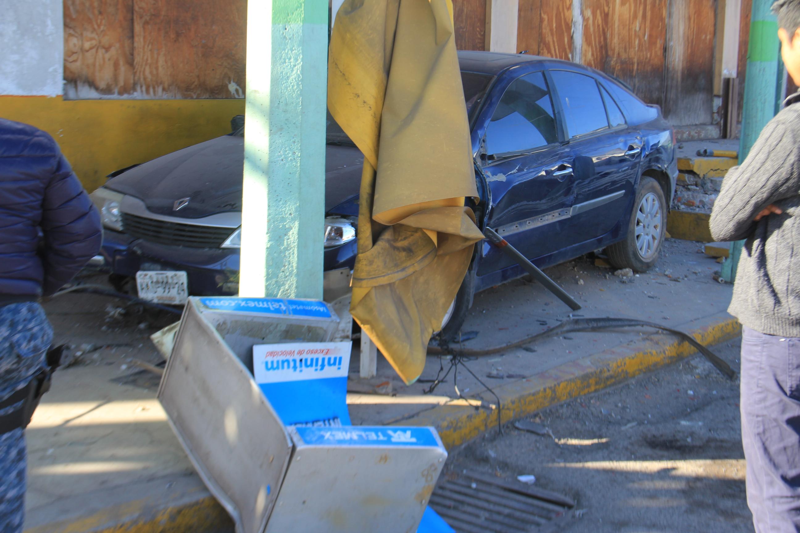 Tras falla mecánica, hábil conductora evita una tragedia