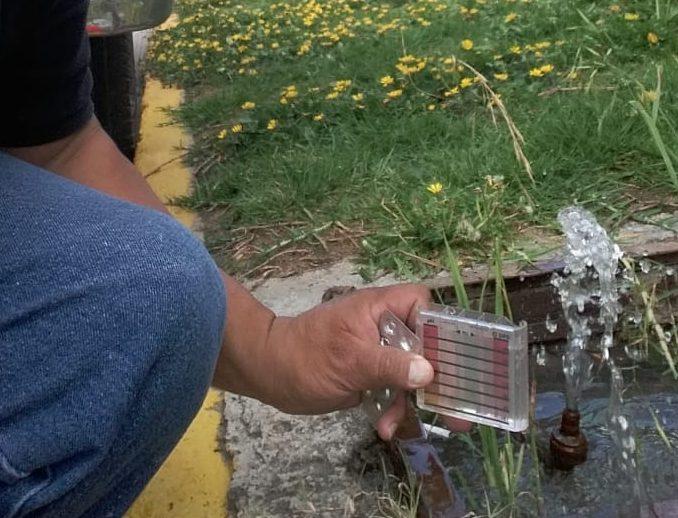 CAASST Realiza constante monitoreo de calidad de agua