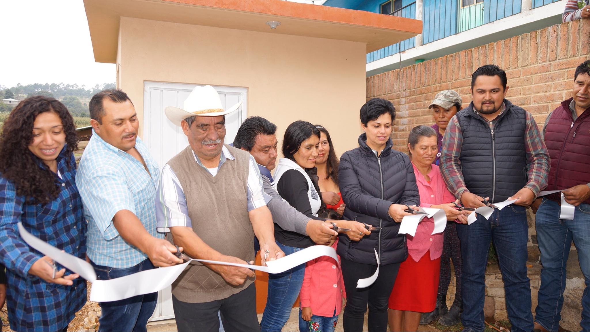 Uso de baños con biodigestores contribuyen al cuidado del medio ambiente: Rocío Sosa