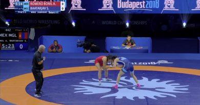 Obtiene Alejandra Romero 5to lugar  en Campeonato Mundial de Luchas Asociadas en Hungría