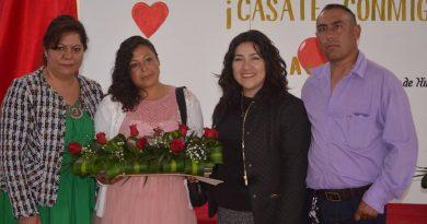 Formalizan su relación 17 parejas en Cuautepec
