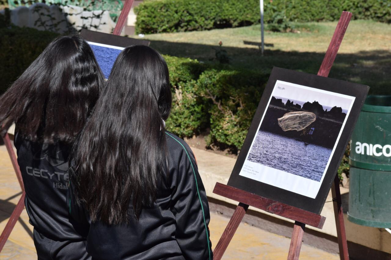 Inauguran exposición fotográfica itinerante «La cara del agua» en Santiago Tulantepec