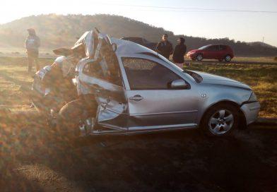 Muere una persona y una más salió lesionada en accidente en la Tulancingo – Pachuca