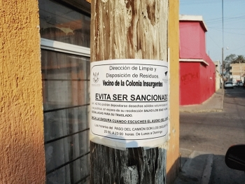 Exentos del Reglamento de Anuncios Publicitarios los letreros y anuncios oficiales
