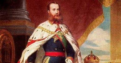 Maximiliano en Tulancingo, 1865