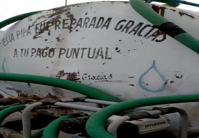 Señalan «piperos» a la CAAMT de monopolizar el abasto de agua