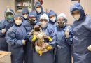 """Concluye labor """"El Tuerto""""; un perro que ayudó a reducir estrés en personal Covid  del ISSSTE"""