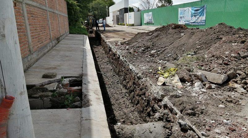 Descarta Secretaría de Desarrollo Urbano que haya trabajos mal ejecutados en calle Francisco I Madero