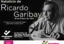Recuerdan con actividades virtuales el natalicio de Ricardo Garibay